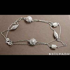 Silpada First Flurry Necklace - Sterling Silver